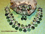 Chrysoprase Pearl Dream jewellery set