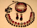 Moulin Rouge jewellery set