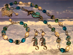 Ocean Breeze jewellery set