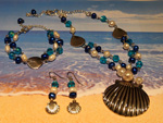 Ocean Shells Jewellery Set