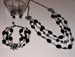 Onyx Glamour Jewellery Set