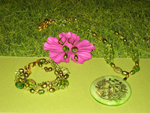 Peridot Princess Jewellery Set