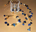 Starry Night jewellery set