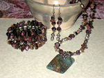 Tourmaline Princess Jewellery Set