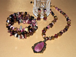 Tourmaline Romance jewellery set