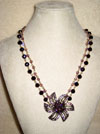 Violet Dazzler Necklace