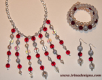 Winter Berries jewellery set